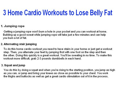 how often to do cardio for serious fat burning picture 6