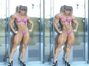 saradas female muscle morphs picture 14