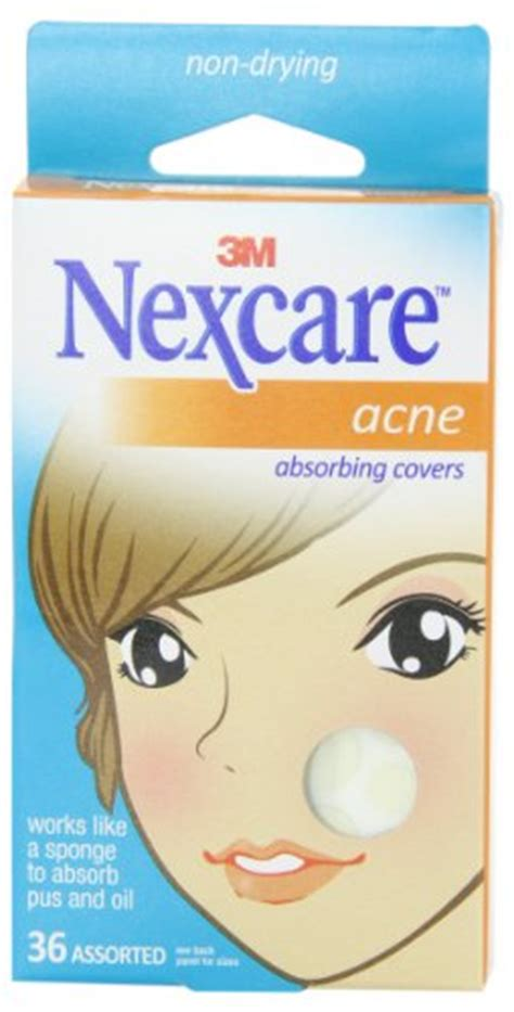 nexcare acne cover, drug-free, gentle, breathable cover, 36 count picture 4