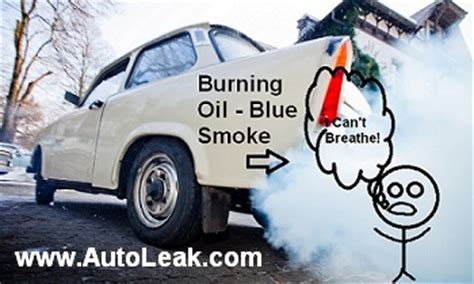 causes of blue smoke picture 10
