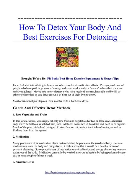 best and easy way to detox body for picture 5