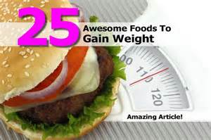 foods to eat to gain weight picture 6