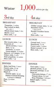 1000 calorie a day diet picture 3