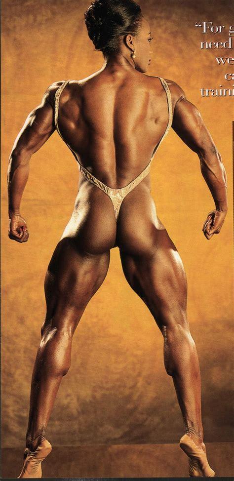 black muscle women girls picture 5