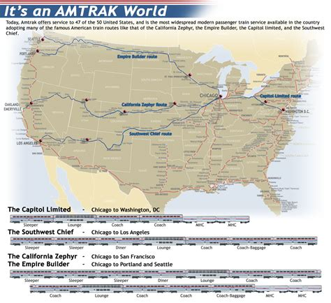 amtrak sleeping car routes picture 1