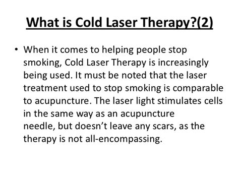 cold laser to quit smoking picture 1