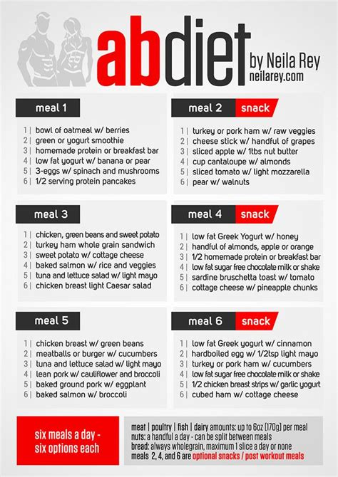free diet and exercise plans picture 15