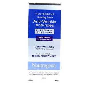neutrogena healthy skin anti-wrinkle intensive night cream picture 5