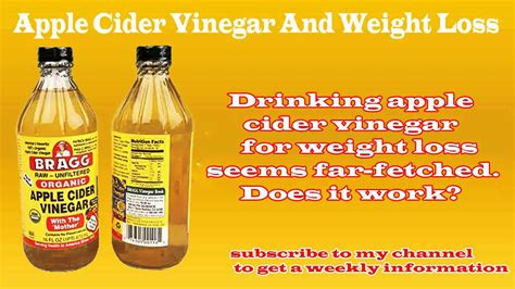 apple cider vinegar and weight loss picture 7