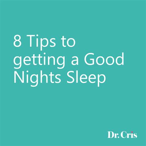 getting a good nights sleep picture 3