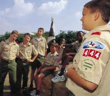 a boy from the scouts asked to touch picture 11