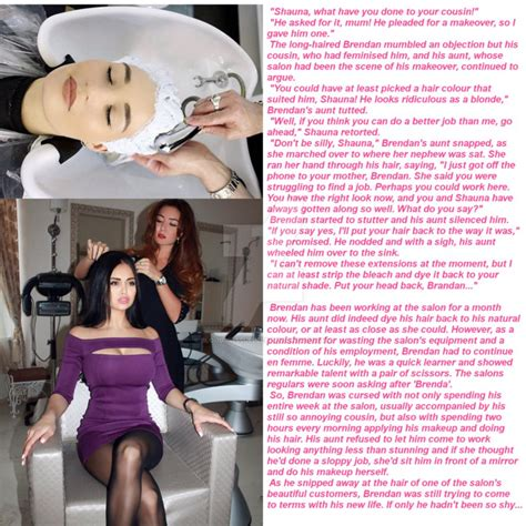 beauty salon forced trips for sissy stories picture 4