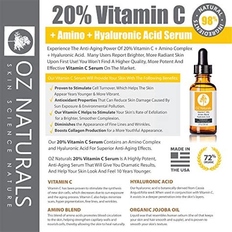 oz naturals - the best vitamin c serum for your face picture 7