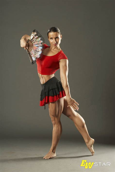 female muscle calves legs picture 10