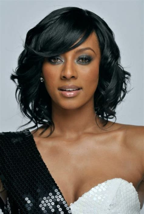 black magazine hairstyles for meduim length hair picture 9