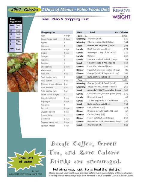 free on line easy diet menus picture 12