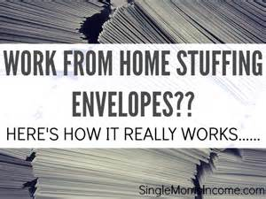 stuff envelopes from home make money doing it picture 1