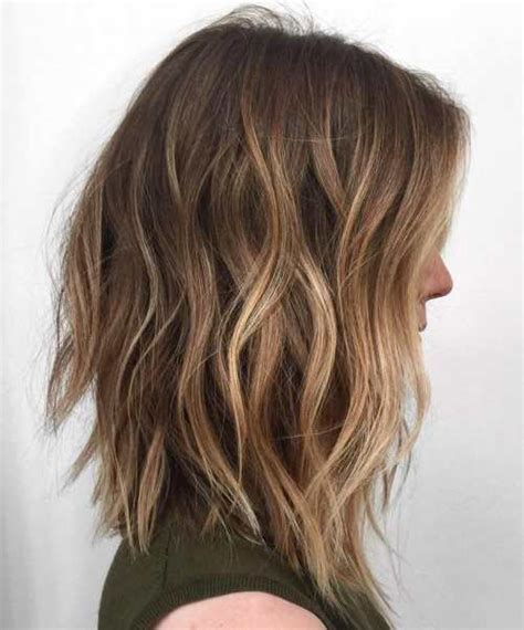 what does brown hair layered with blonde streaks look like picture 2