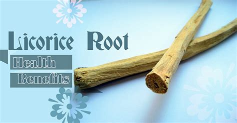 health benefits of licorice root picture 1