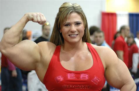 female muscle models picture 7