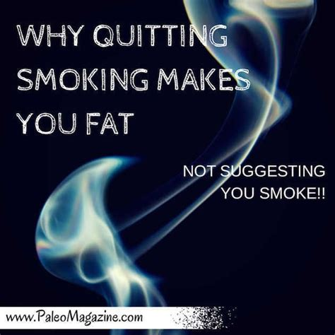 why do we gain weight when stoping smoking picture 1