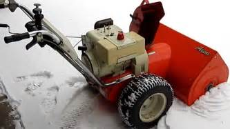 ariens snowblower old hm80 picture 2