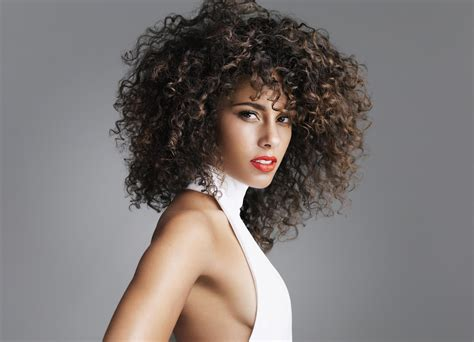 alicia keys hair picture 1