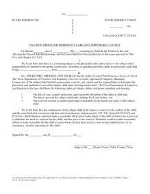 joint custody emergency contact forms picture 1