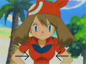 pokemon may's large breast picture 3