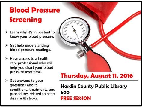 free blood pressure screening picture 3