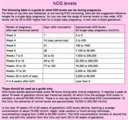 hcg levels during pregnancy picture 5