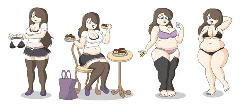 anime girls weight gain picture 13