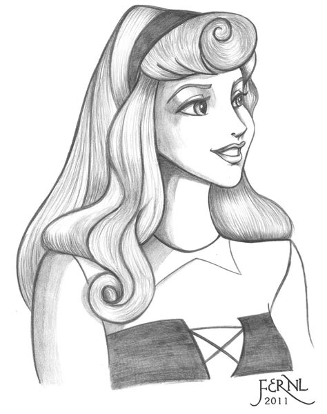 coloring pages disney princess sleeping beauty picture 9