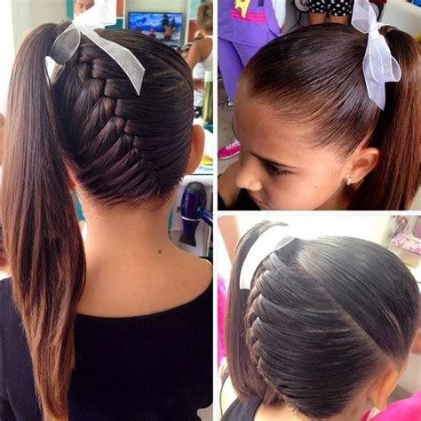 cheerleading hair ribbon picture 9