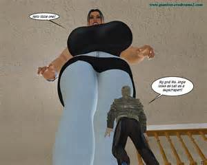 fat giantess growth story picture 1