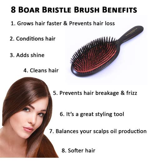 boar hair brush tips picture 3