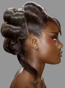 black hair wedding style picture 13