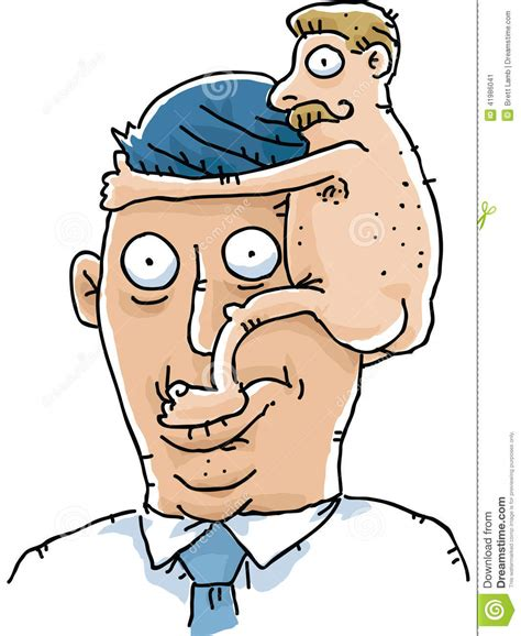 cartoon of a penis head person picture 7