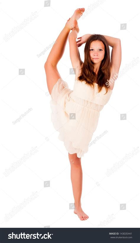 woman holding to stretch bladder picture 17