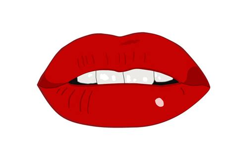 clipart of lips picture 7