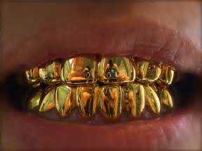 gold grill teeth picture 2