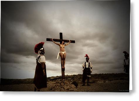 women crucified picture 10