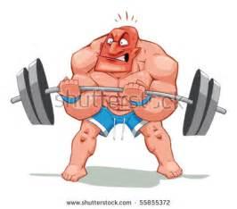 muscle body giant murph cartoon art picture 17