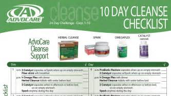 ttoubke shooting advocare cleanse instructions picture 1