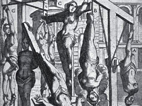 female crucifixion for punishment and pain picture 1