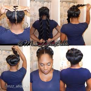 natural hair braiding styles picture 15