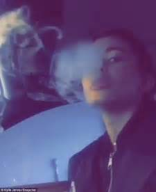 girl blowing smoke picture 5