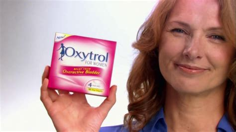 woman in oxytrol commercial picture 13