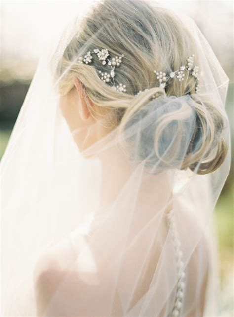 wedding hair styles wh veil picture 1