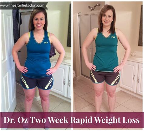 +dr. oz rapid weight loss plan before and picture 1